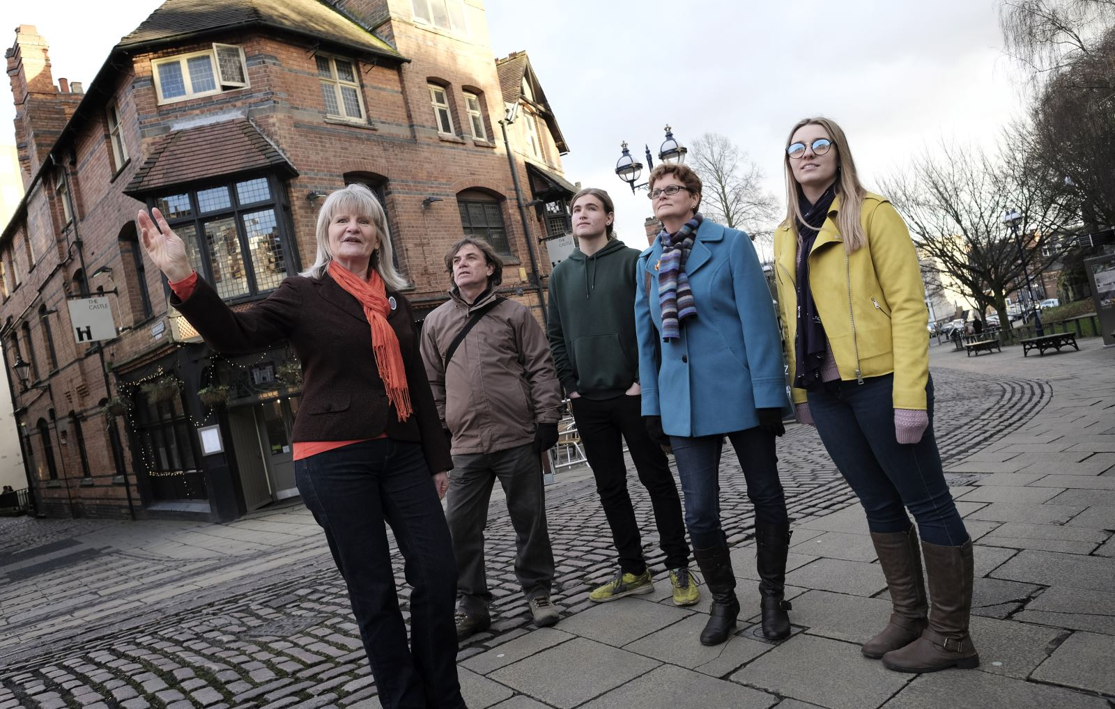 Gold Star Guides Visit Nottinghamshire