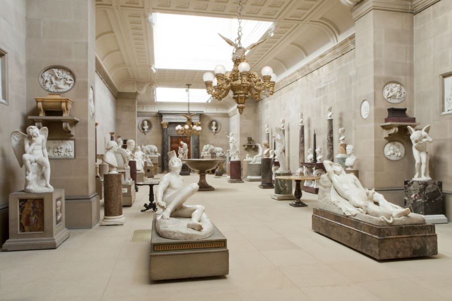 Sculpture Gallery at Chatsworth | Visit Nottinghamshire