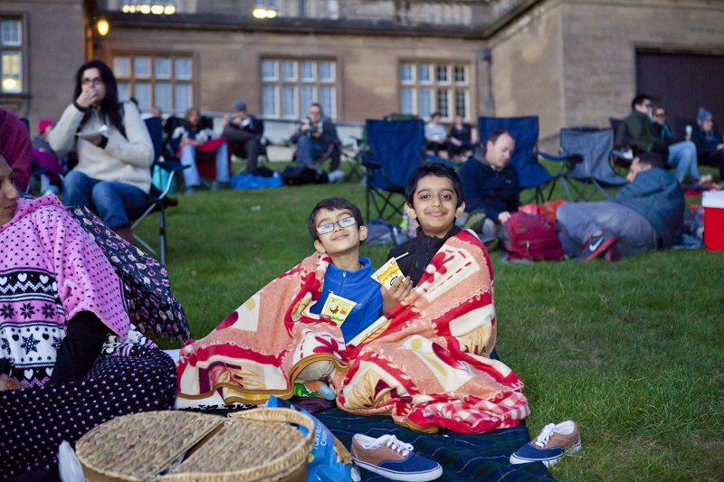 Outdoor cinema in Nottinghamshire - image credit Graham Lucas