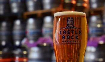 Beer from Castle Rock Brewery