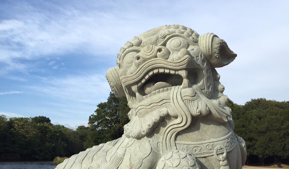 Chinese Guardian Lions | Visit Nottinghamshire
