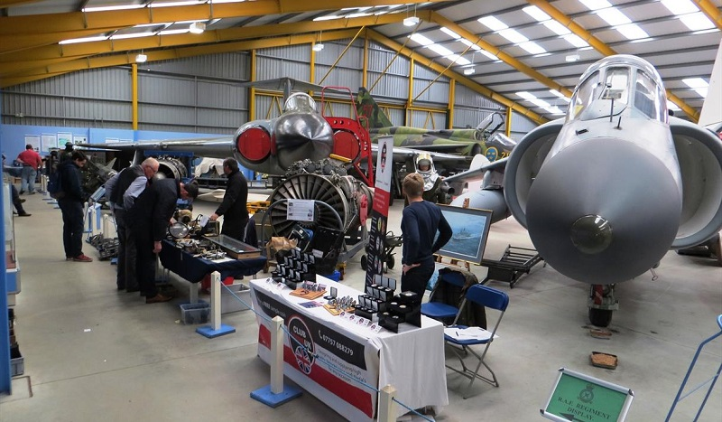 Newark Air Museum Indoor Aeroboot Aviation and Avionic Sale