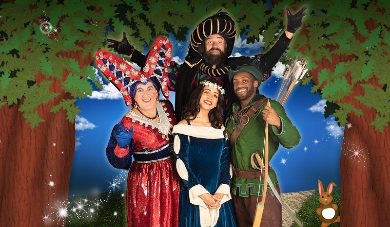 Robin Hood and the Babes in the Wood at Nottingham Playhouse