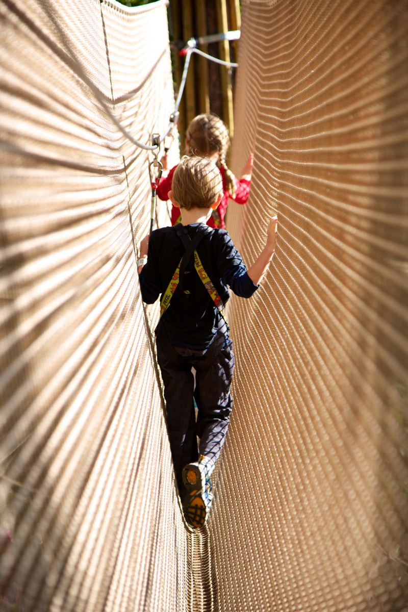 Go Ape At Sherwood Pines Adventure Park Playground In