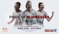 England Women's Final Euro 2017 Home Qualifier at Notts County Football Club