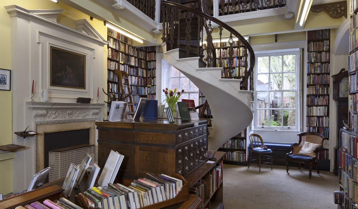 Bromley house library visit nottinghamshire - Building a home library ...