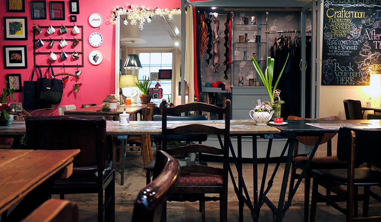 Product Image Debbie Bryan Nottingham Lace Market Shop And Tea Room