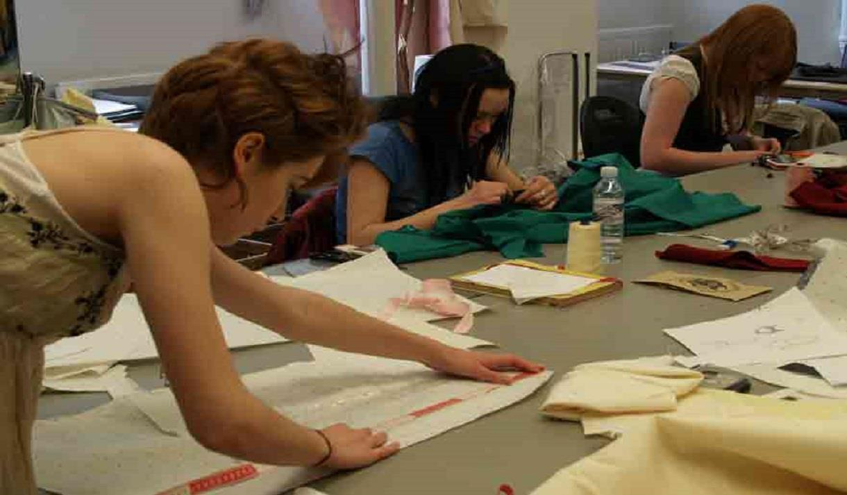 Fashion Making for 15 - 17 Year Olds - Short Course at NTU, Nottingham Trent University