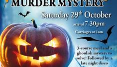 Halloween Murder Mystery Themed Night at Clumber Park Hotel and Spa
