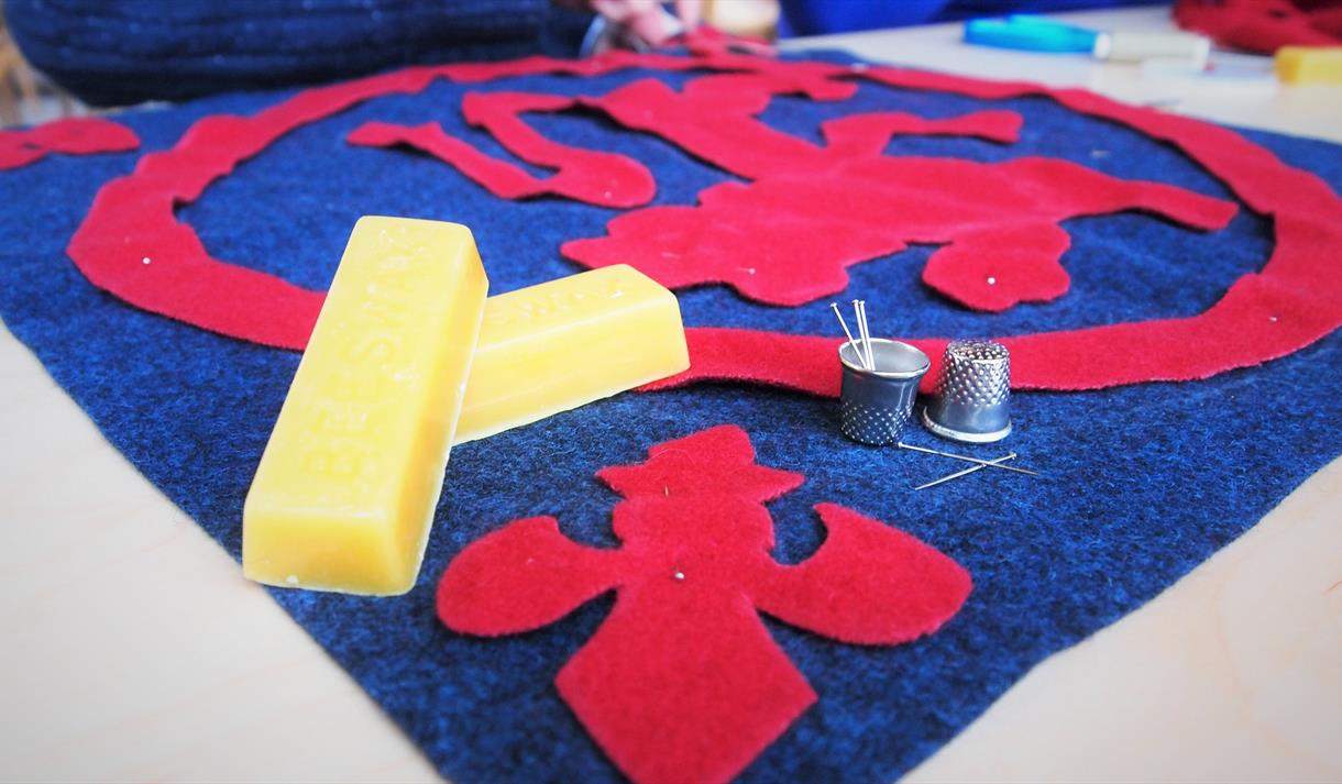 Medieval Coverlet Sewing Sessions - Visit Nottinghamshire