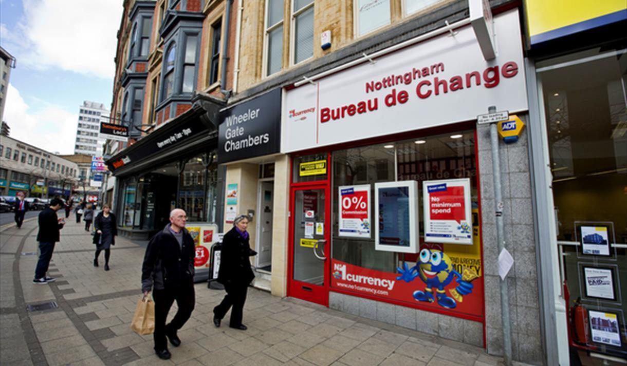No 1 currency exchange nottingham nottingham visit nottinghamshire