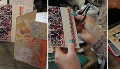 Crafternoon: Trio of Linocut Cards & Envelopes
