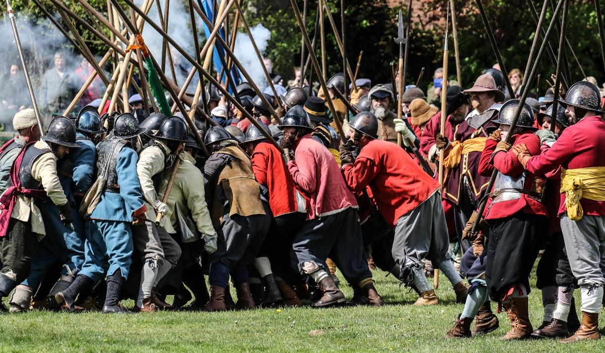 Pikes and Plunder: Civil War Festival 2019 - Visit