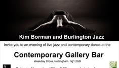 Jazz Dance Fusion at The Contemporary Gallery Bar