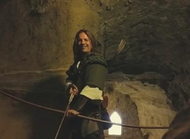 The Robin Hood Dungeon Tours at Nottingham Castle