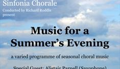 Music for a Summer Evening with Sinfonia Chorale
