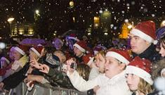 Mansfield Christmas Lights Switch On 2016