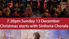 Carol Concert with the Sinfonia Chorale at Patchings Farm Art Centre