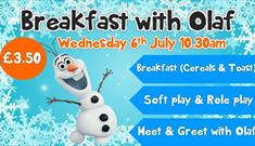 Breakfast with Olaf at The Big Tops