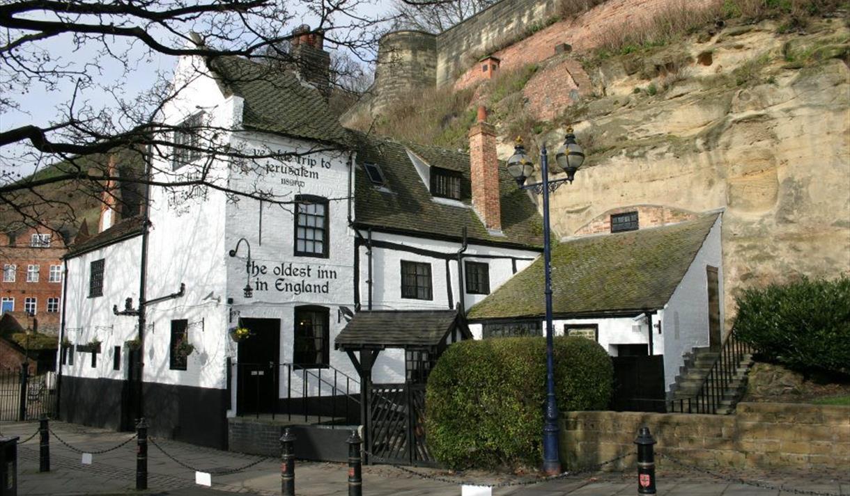 Ye Olde Trip to Jerusalem - Nottingham - Visit Nottinghamshire