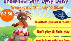 Breakfast with Upsy Daisy at The Big Tops