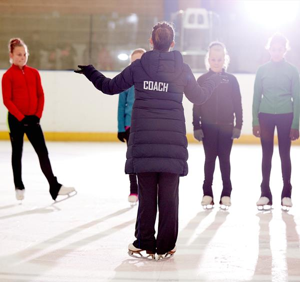 Learn all about the art of ice skating with National Ice Centre's skating coach