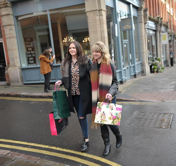 Christmas Shopping In Nottingham