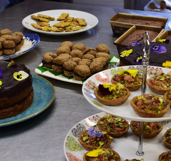 Vegan baking course at School of Artisan Food