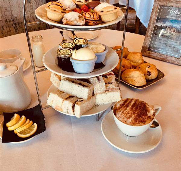 Afternoon tea at Thoresby Hall Hotel