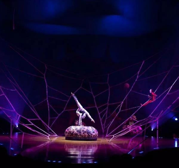 OVO Cirque du Soleil arrives in Nottingham and casts a spell on the local audience