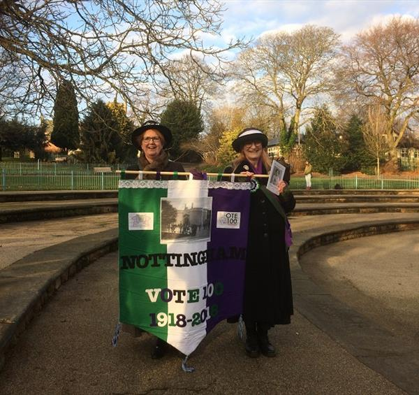 Nottingham Pays Tribute to Suffragette Helen Watts