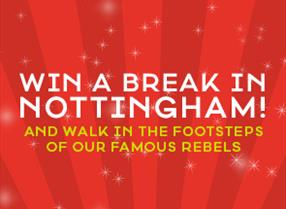 Win a break in Nottingham this Christmas