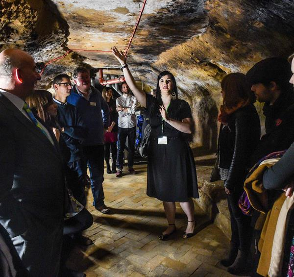 Going Underground: Explore Nottingham's Top Ten Caves