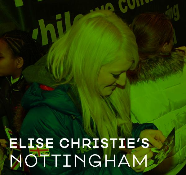 Winter Olympics Star Elise Christie Recommends Her Favourite Places in Nottingham