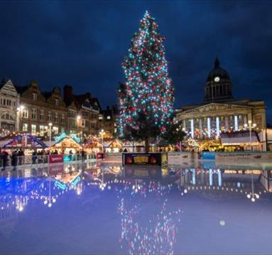Nottingham's Christmas Lights Switch On 2017