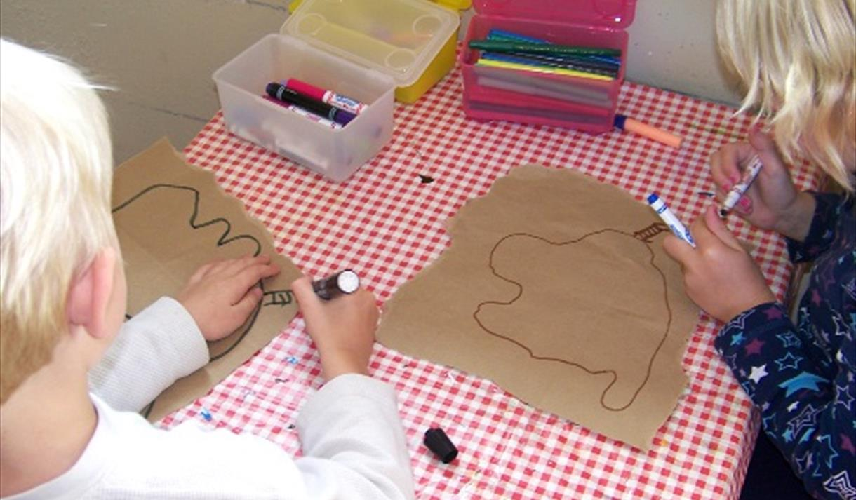 Pirates princesses themed arts craft workshops visit for Mansfield arts and crafts show