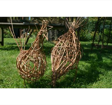 Chicken Willow Weaving | Visit Nottinghamshire