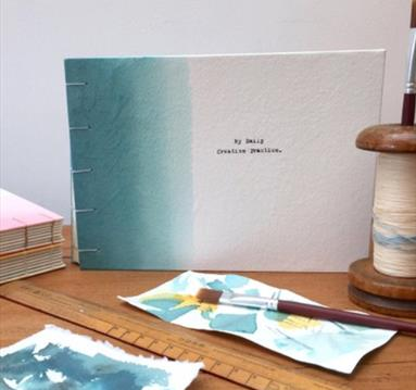 Handmade Bookbinding Notebook Workshop | Visit Nottinghamshire