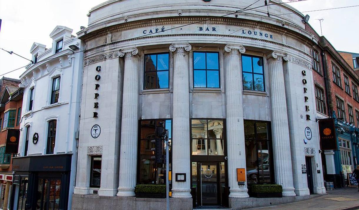 Copper Cafe Bar City Centre Nottingham Visit