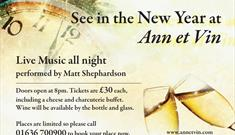 New Year's Eve Party 2016 at Ann et Vin
