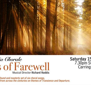 Sinfonia Chorale: Songs of Farewell