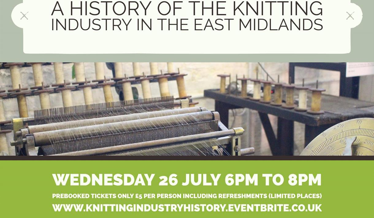Illustrated Talk: A History of the East Midlands Knitting Industry