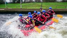 White Water Rafting at Holme Pierrepont