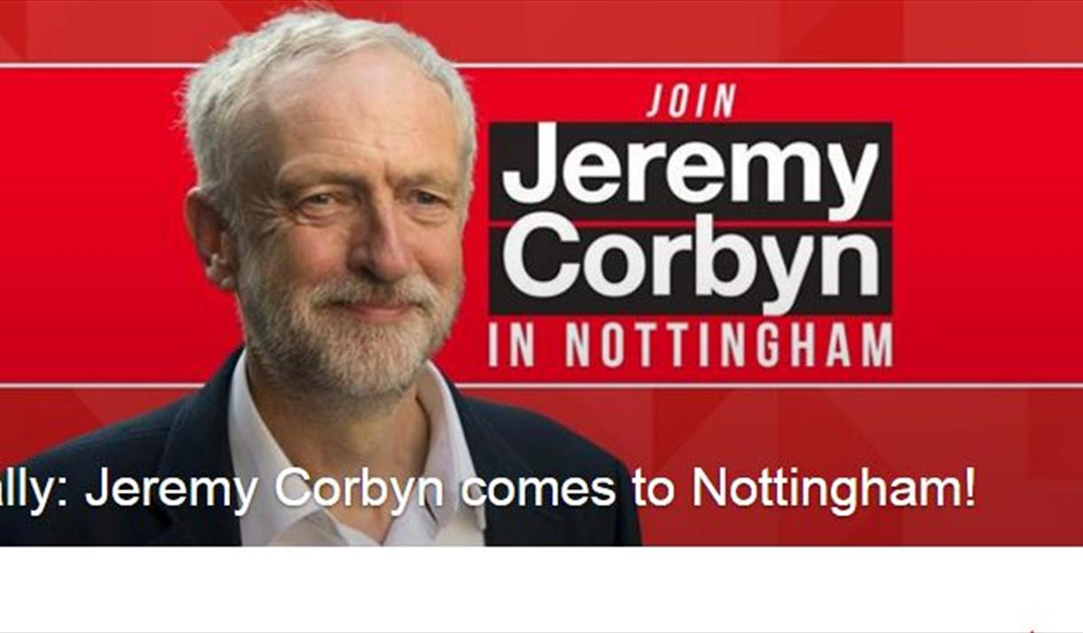 Jeremy Corbyn Event in Nottingham