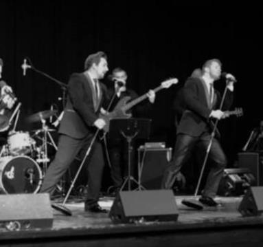 Jersey Boys tribute at Conkers Derbyshire