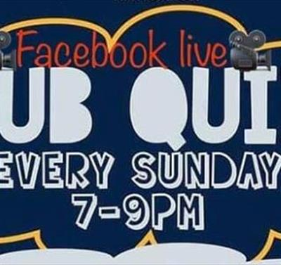 The Trent Navigation Facebook Live Pub Quiz