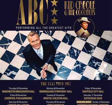 ABC - Plus special guests Kid Creole & the Coconuts