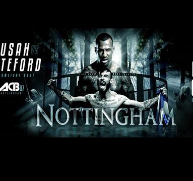 ACB mixed martial arts comes to Nottingham's Motorpoint Arena in May.