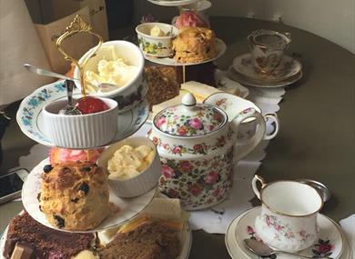 Vintage Tea Rooms Nottinghamshire