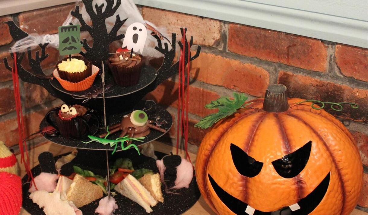 Halloween Afternoon Tea at The Tropical Butterfly House!